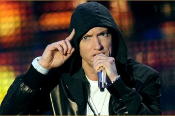 "Eminem Performs ""Survival"" Live On BBC Radio 1"