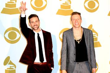 Macklemore, Robin Thicke, T.I., & Miguel Perform At Grammy Nominations Concert