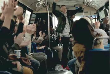Macklemore & Ryan Lewis Unleash Surprise Performance On NYC Bus