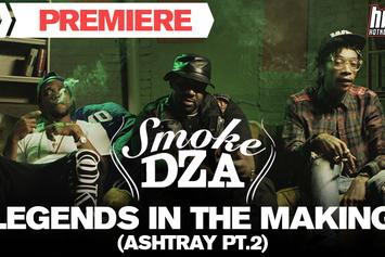 "Smoke DZA Feat. Wiz Khalifa, Curren$y ""Legends In The Making (Ashtray Pt.2)"" Video"