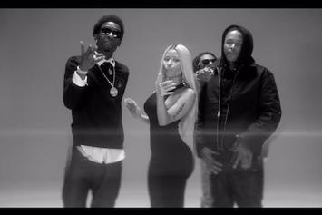 "YG Feat. Lil Wayne, Rich Homie Quan, Meek Mill & Nicki Minaj ""My Nigga (Remix)"" Video"