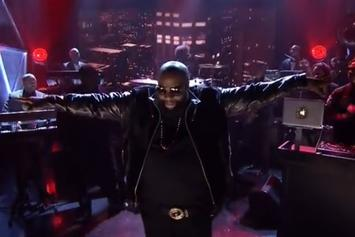 "Rick Ross Performs ""Devil Is A Lie"" On Jimmy Fallon"