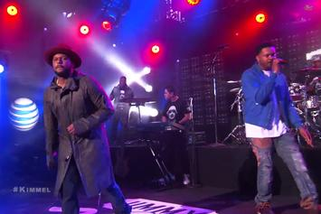 "Schoolboy Q and BJ The Chicago Kid Perform ""Studio"" On Jimmy Kimmel"