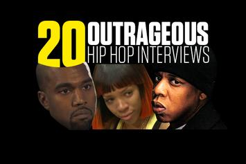 20 Outrageous Hip-Hop Interviews