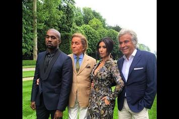 Photos: Kanye West & Kim Kardashian In France Pre-Wedding