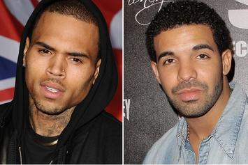 Chris Brown & Drake Spotted In Studio Together