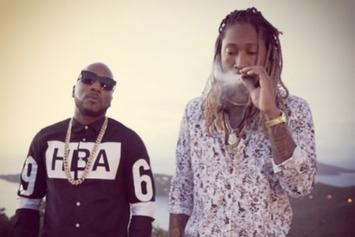 "BTS Photos: Jeezy and Future's Upcoming ""No Tears"" Video"