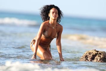 "Rihanna Dances To Bobby Shmurda's ""Hot Nigga"", Bikini-Clad & Blunt In Hand"
