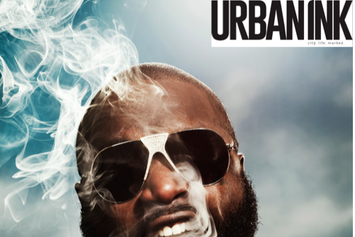 Rick Ross Covers Urban Ink Magazine