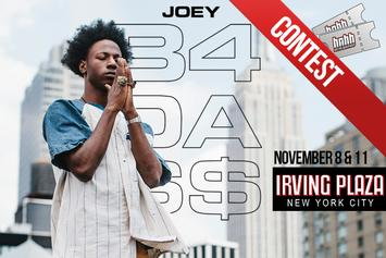 "Contest: Win Tickets For Joey Bada$$'s ""B4DAMONEY"" NYC Shows"