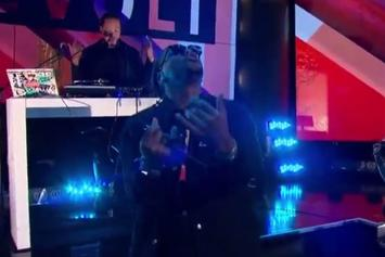 """Lupe Fiasco Performs """"Adoration Of The Magi"""" Live On Revolt TV"""