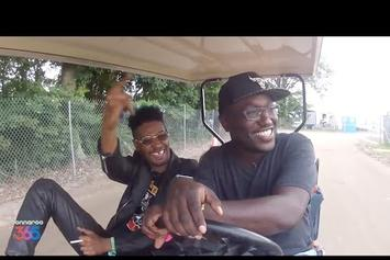 Danny Brown & Hannibal Buress Cruise Bonnaroo In A Golf Cart