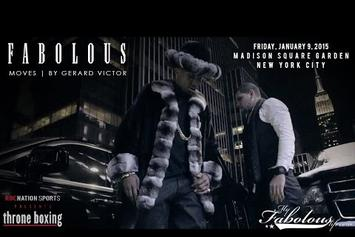 Fabolous At The Roc Nation Throne Boxing Event (Vlog)
