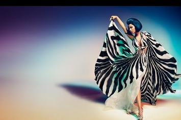 Nicki Minaj Models Roberto Cavalli In New Ad
