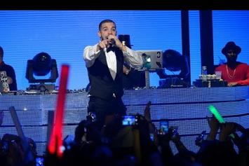 Drake Hosts New Year's Eve At Marquee Nightclub In Las Vegas