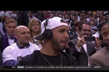 "Drake Interviewed On ESPN During ""Drake Night"""