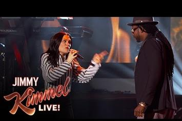 "Jessie J & 2 Chainz Perform ""Burnin' Up"" Live On Jimmy Kimmel"