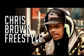 Chris Brown Freestyles On Hot 97
