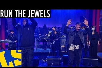 "Run The Jewels (Killer Mike & El-P) Perform ""Early"" On Letterman"