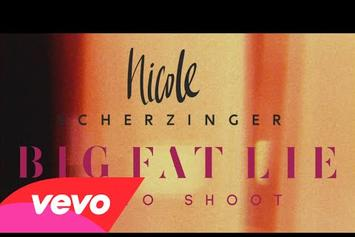 "Nicole Scherzinger ""Big Fat Lie (Photoshoot)"" BTS Video"