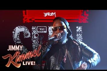 "Jeezy Performs ""Holy Ghost"" On Jimmy Kimmel Live"