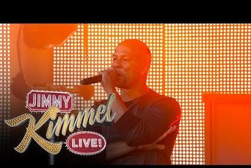 """Common Performs """"Kingdom"""" With Vince Staples On Jimmy Kimmel"""