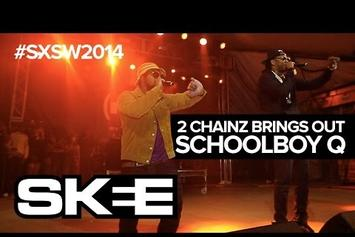2 Chainz Brings Out ScHoolboy Q At Def Jam SXSW Showcase