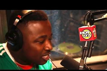 "Troy Ave Freestyles on Hot 97′s ""The Hot Box"""