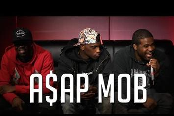 A$AP Mob Appear On Hot 97 Morning Show