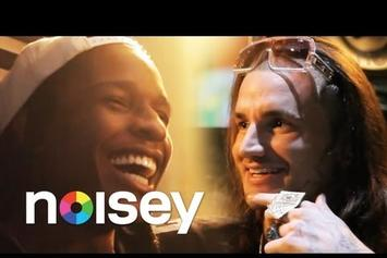 ASAP Rocky Interviews RiFF RaFF (Part 2) - Video