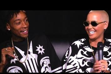 "Wiz Khalifa Feat. Amber Rose ""Talk Marriage, Miley Cyrus & Weed With Angie Martinez"" Video"