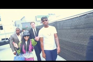 "Nicki Minaj ""Behind The Scenes At The BET Awards"" Video"