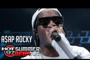 "ASAP Rocky Feat. 2 Chainz & Kendrick Lamar  """"Fuckin Problems"" Live @ Summer Jam XX"" Video"