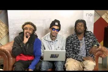 "Flatbush Zombies ""Respond To YouTube Comments"" Video"