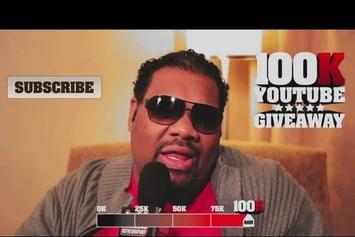 "Fatman Scoop ""HNHH 100K YouTube Giveaway: Win $10,000"" Video"