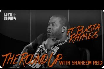 """Busta Rhymes """"Interview With Life + Times"""" Video"""