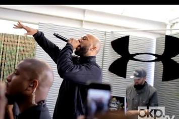 "Common ""Freestyles Over ""Clique"""" Video"
