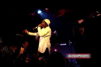 "ASAP Rocky ""Performs ""Angels"" & ""Fashion Killa"" Live"" Video"