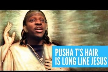 """Pusha T """"Talks About His Braids"""" Video"""