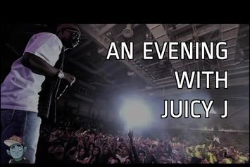 "Juicy J ""An Evening With Juicy J (R&R)"" Video"