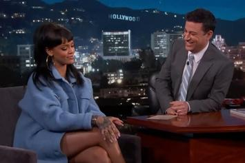 Rihanna Pranks Jimmy Kimmel On April Fool's Day