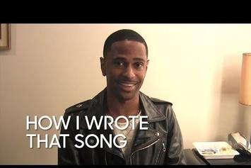 """Big Sean Explains How He Wrote """"One Man Can Change The World"""""""