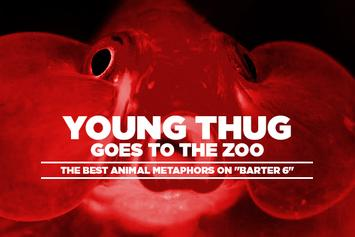 "Young Thug Goes To The Zoo: The Best Animal Metaphors On ""Barter 6"""