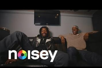 "Flatbush Zombies & The Underachievers Go ""Back & Forth"""