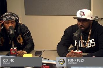 Kid Ink Freestyles On Funkmaster Flex