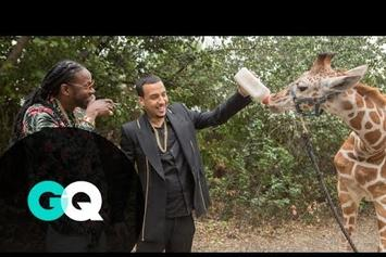 """2 Chainz & French Montana Feed A $40K Giraffe In """"Most Expensivest Shit"""""""