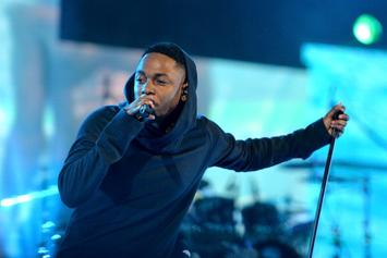 """Kendrick Lamar Performs New Song, """"Money Over Love,"""" In L.A."""
