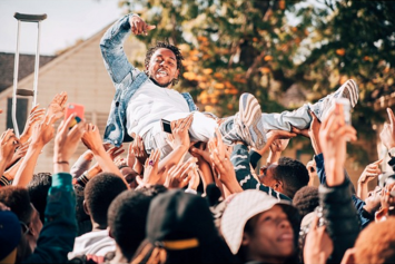 """Kendrick Lamar Shoots """"Alright"""" Video In The Bay"""