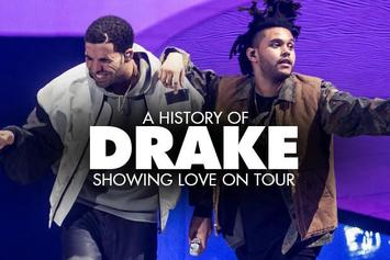 A History Of Drake Showing Love On Tour