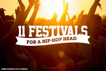 11 Festivals For A Hip-Hop Head